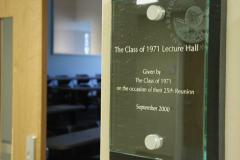 Science Center Dedication